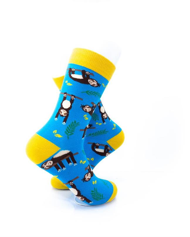CoolDeSocks Sloths Socks right view image