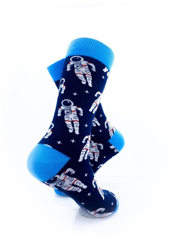 CoolDeSocks Space Astronaut Socks right view image
