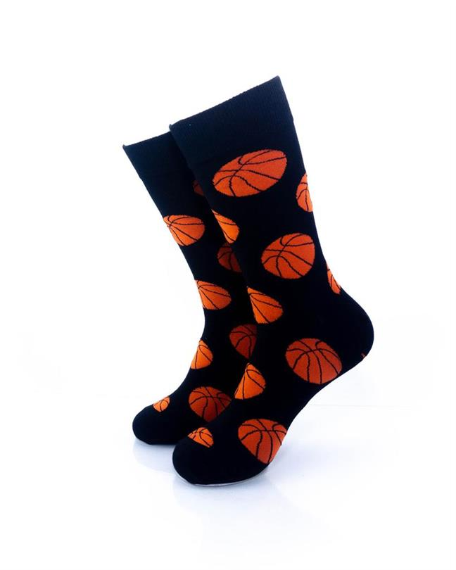 CoolDeSocks Sport - Basket Ball Socks front view image