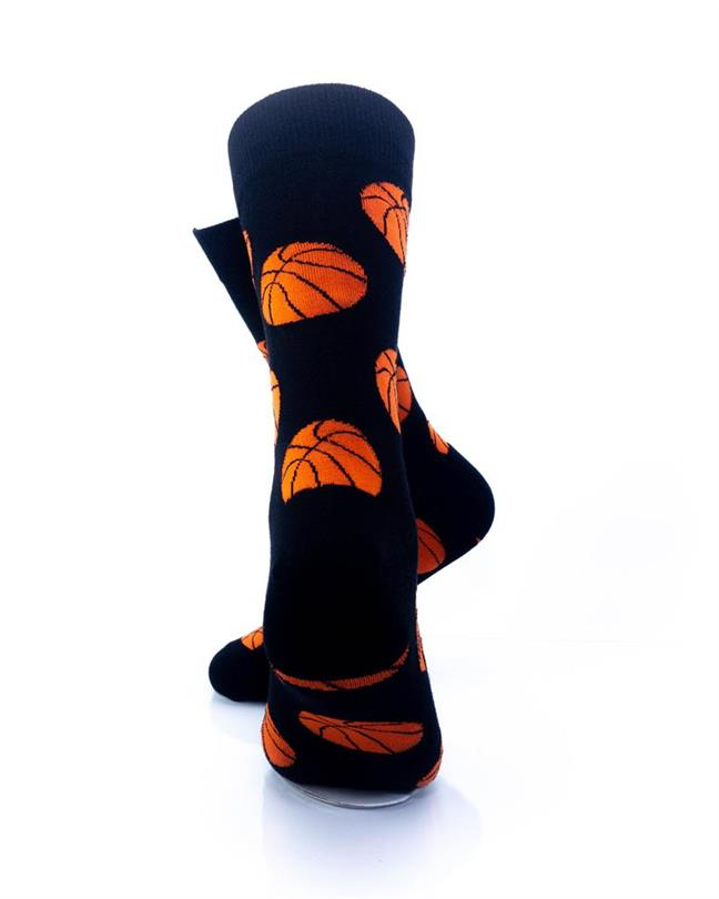 CoolDeSocks Sport - Basket Ball Socks rear view image