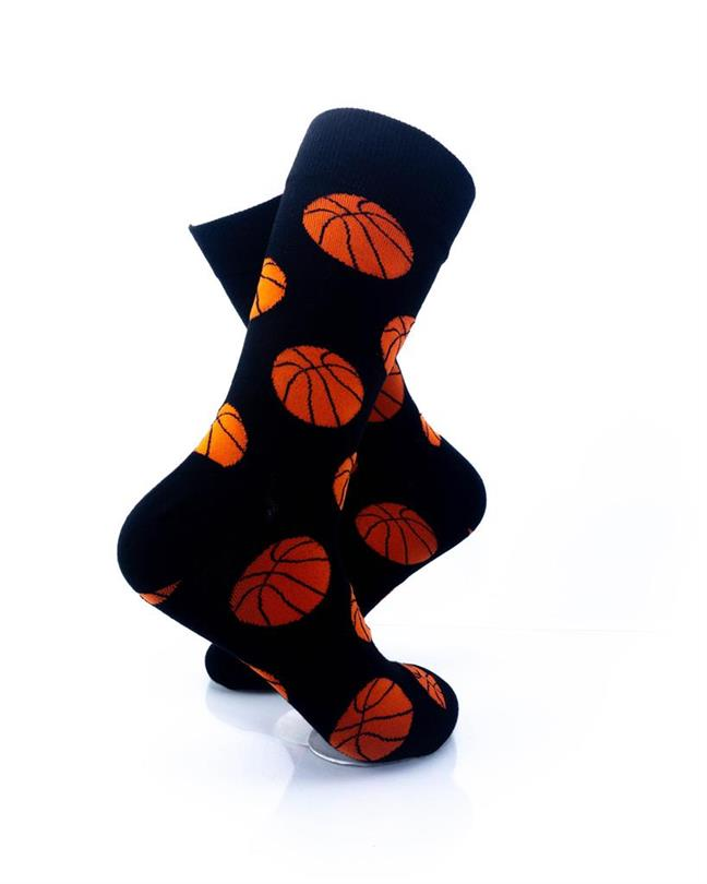 CoolDeSocks Sport - Basket Ball Socks right view image