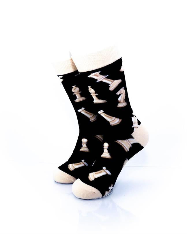 CoolDeSocks Sport - Chess Socks front view image