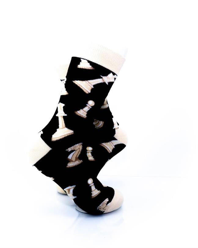 CoolDeSocks Sport - Chess Socks right view image