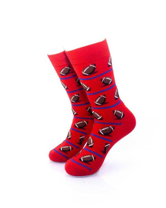 cooldesocks sport rugby crew socks front view