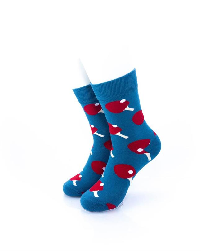 cooldesocks sport table tennis quarter socks front view