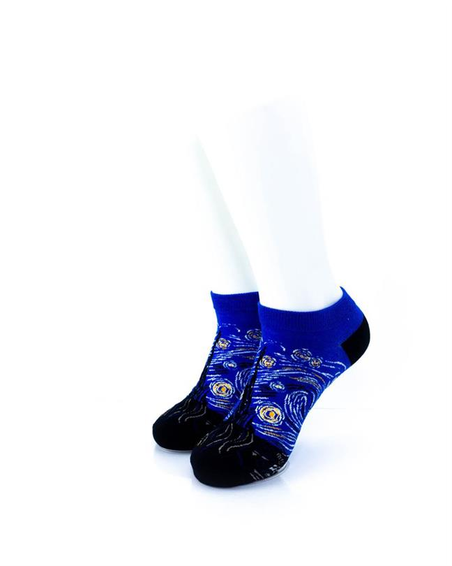 CoolDeSocks Starry Night (A) Socks front view image