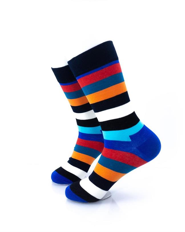 CoolDeSocks Striped (New Edition) Socks left view image