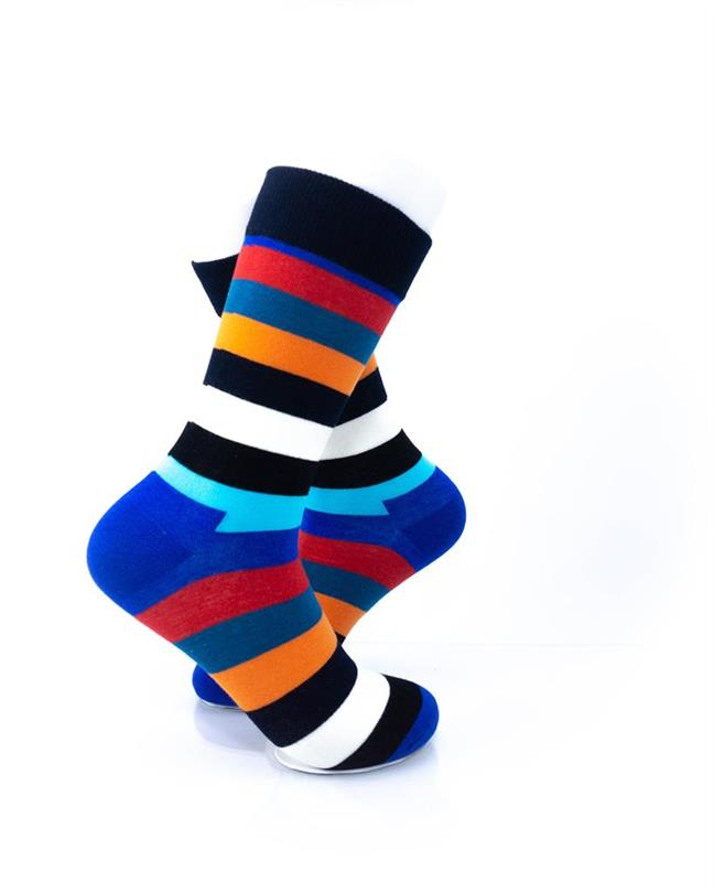 CoolDeSocks Striped (New Edition) Socks right view image