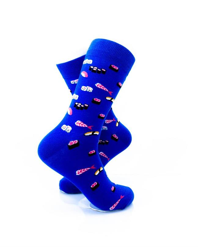 cooldesocks sushi small crew socks right view