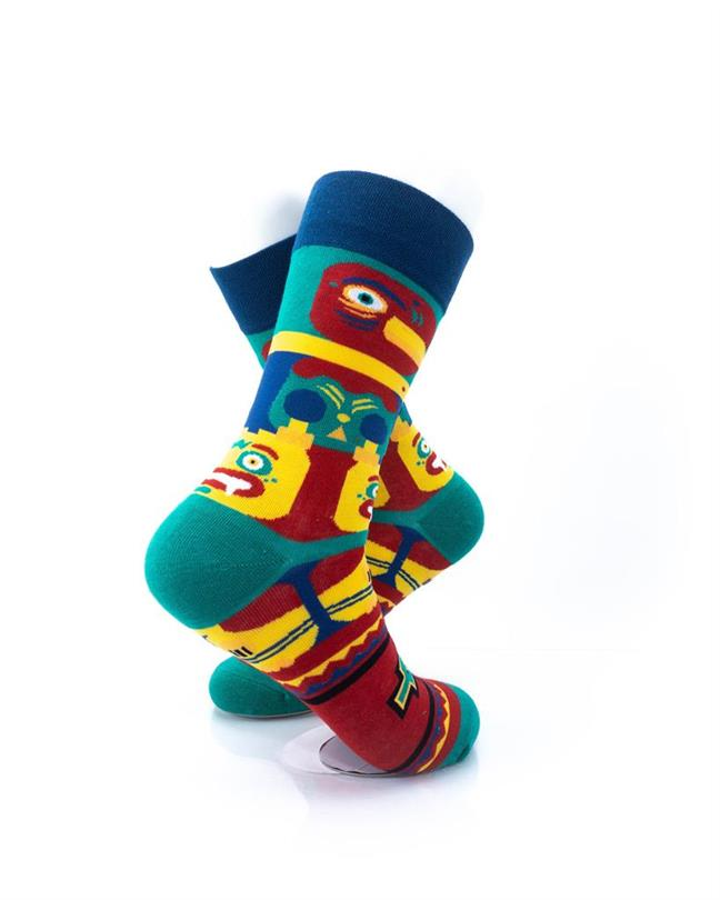 CoolDeSocks Tatum Pole Socks right view image