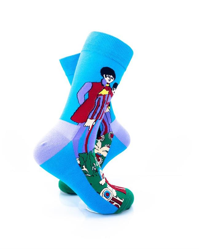 CoolDeSocks Beatles - Pepperland Socks right view image