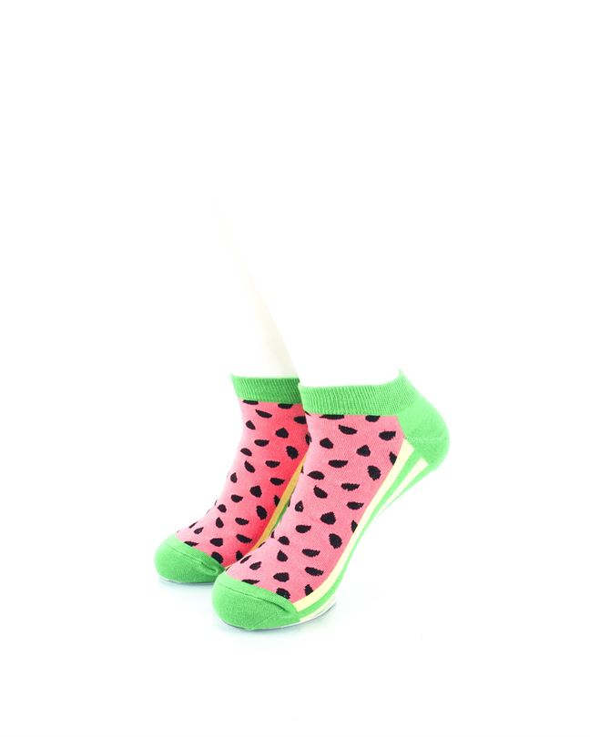 CoolDeSocks Watermelon Ankle Ankle Socks front view image
