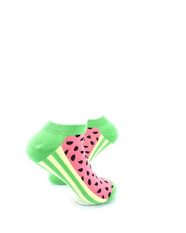 CoolDeSocks Watermelon Ankle Ankle Socks right view image
