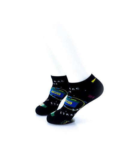 cooldesocks you are stars ankle socks left view
