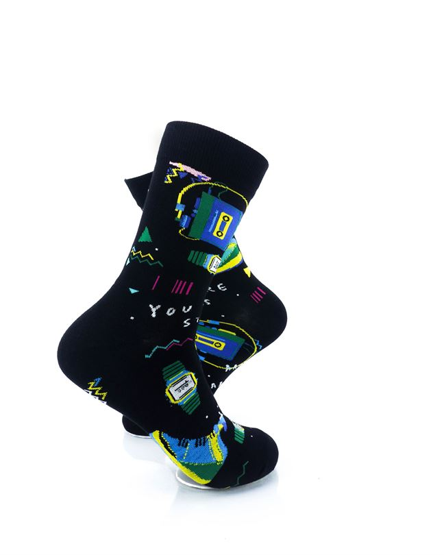 CoolDeSocks You Are Stars Crew Socks right view image