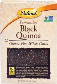 QUINOA - PERU BLACK  12OZ