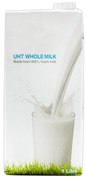 SERGE WHOLE MILK 1LT