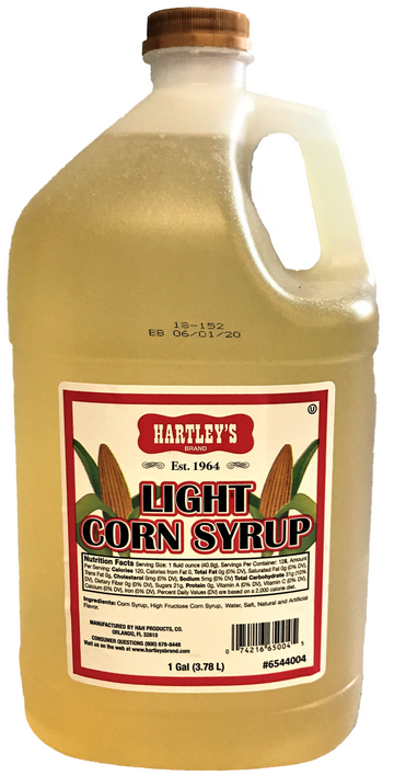HARTLEY'S LIGHT CORN SYRUP 1GAL