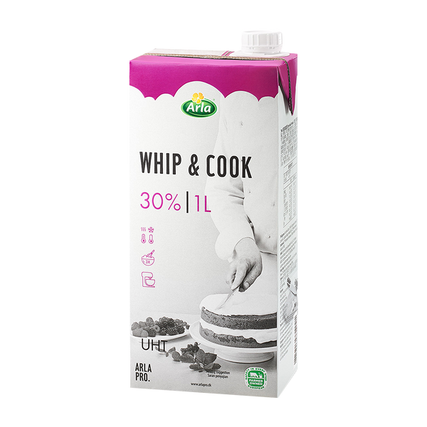 KLOVER WHIP 'N COOK CREAM 1L