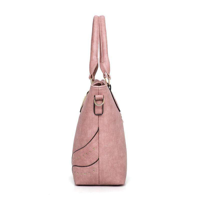 Women Elegant Leather 3 Pcs Bag Set