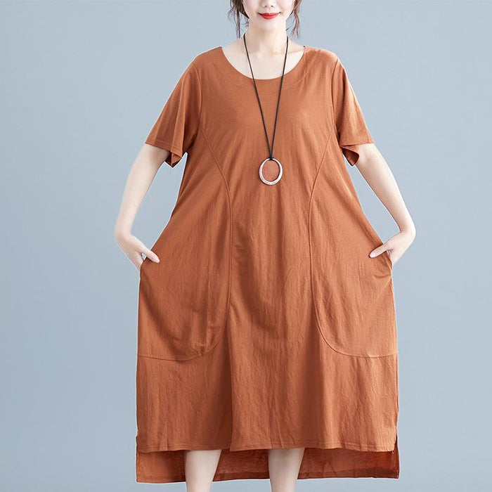 Summer New Large Size Fashion Wild Dress