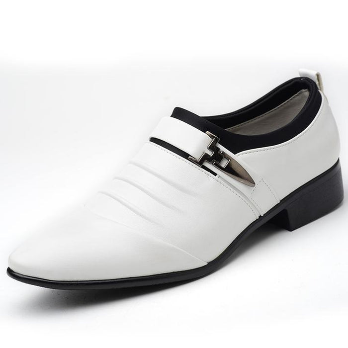Classic Business Men's Dress Shoes Fashion Formal Wedding Slip On Shoes