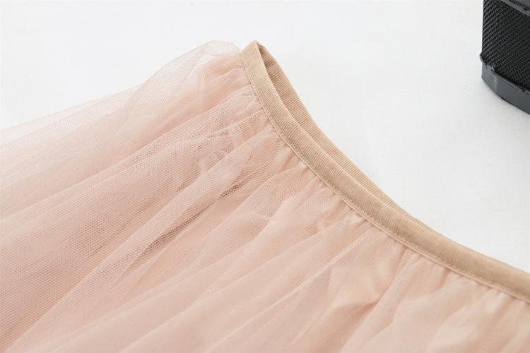 2019 Summer New Sweet Fairy Skirt Korean Version of The Long Skirt Skirt Stitching Female Mesh Tutu