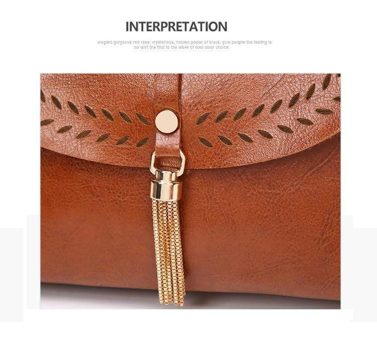 Women Tassel Shell Bags Shoulder Bags