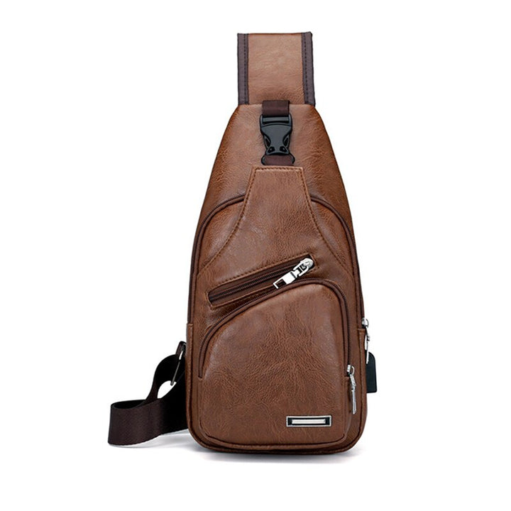 Men's USB Charging Casual Shoulder Bags