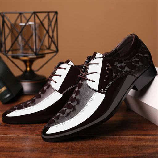 Classic Business Men's Dress Shoes Men Slip On Office Oxford Shoes