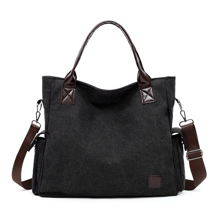 Vintage Canvas Women Bag Casual Travel Bags