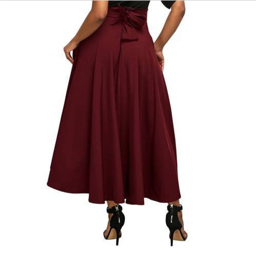 2019 New Multi-color Large Swing Skirt Fashion Wild Models