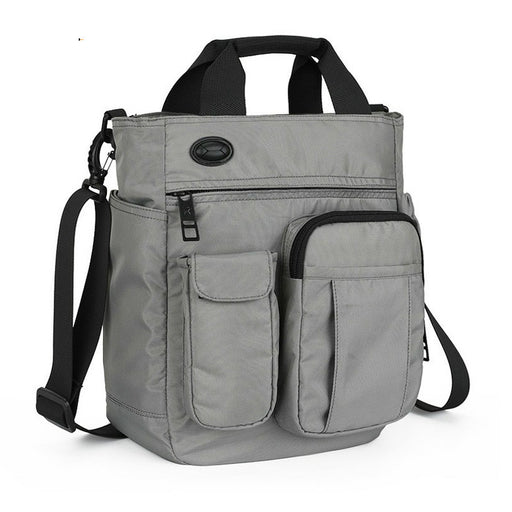Men Multifunctional Shoulder Messenger Bag Waterproof Nylon Travel Handbag