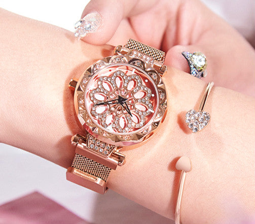 Magnetic Stainless Steel Women's Watch