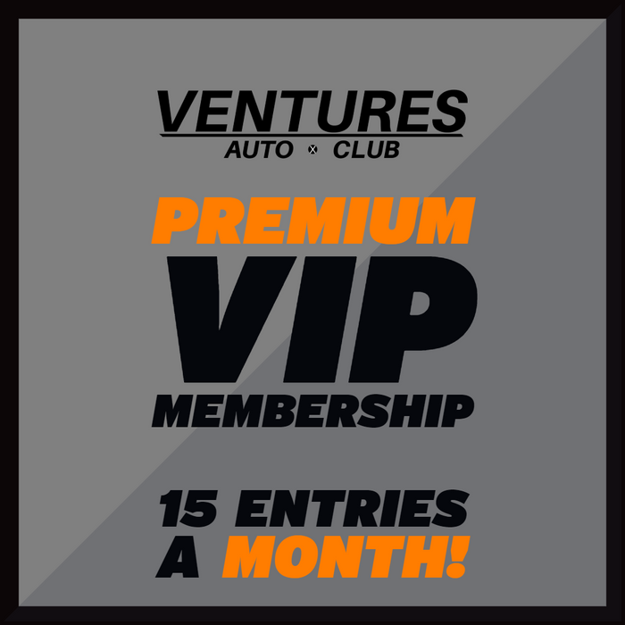 Ventures Auto Club® GET (15) SWEEPSTAKES ENTRIES + VIP MEMBERSHIP FOR $12.95