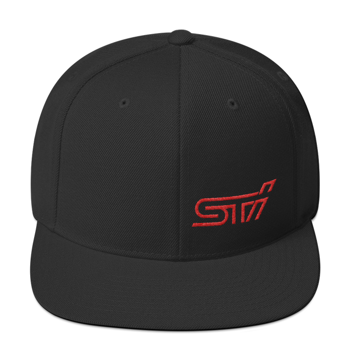 Ventures Auto Club® Black/Red STi Hat