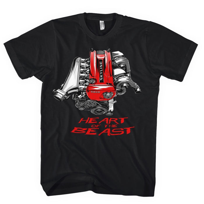 Ventures Auto Club® Red Heart Of The Beast Shirt