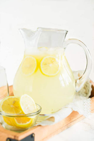 Lemonade Recipes for National Lemonade Day homemade in jug
