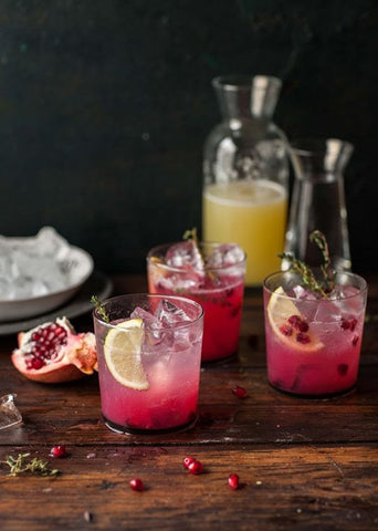 Lemonade Recipes for National Lemonade Day pomegranate