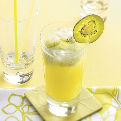Lemonade Recipes for National Lemonade Day sparkling kiwi