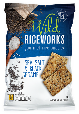 riceworks sea salt and black sesame chips variety fun snack boxes