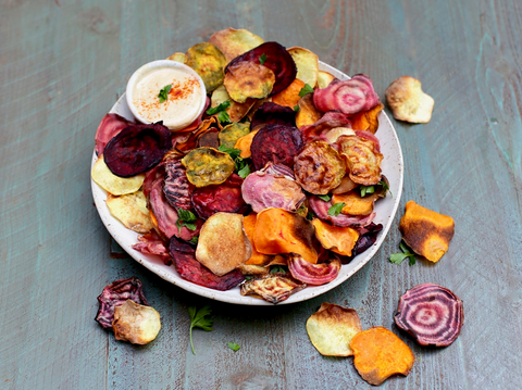 best healthy snack ideas homemade chips