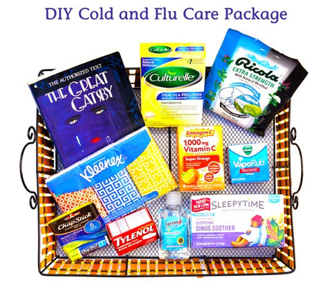 Care Package Ideas for College Students sick care package