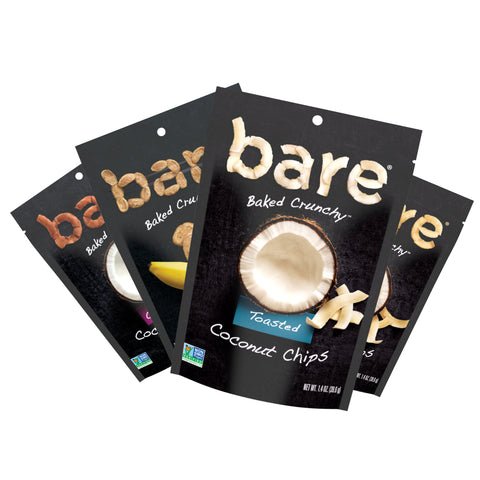 variety fun bare snacks brand partnership