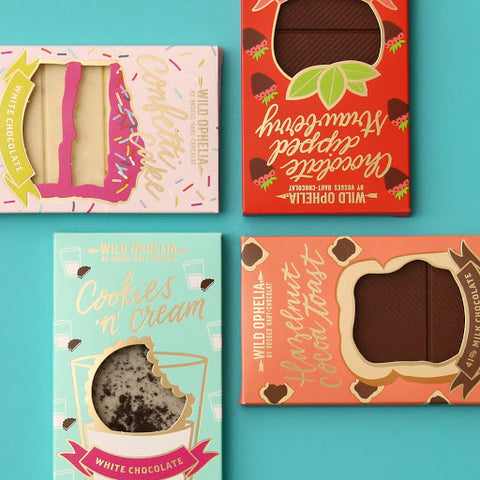 women's Equality Day Women-Owned Business  wild ophelia chocolate