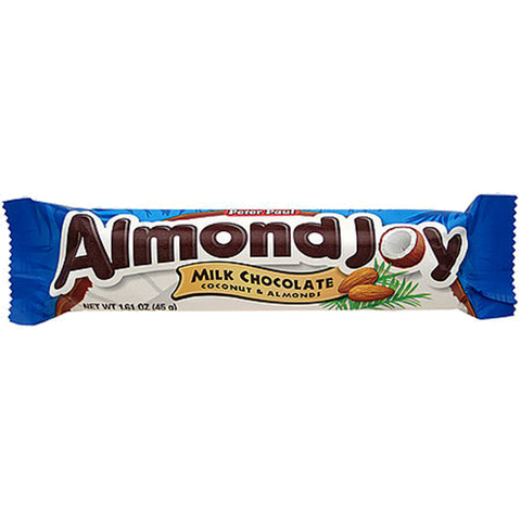 best snacks almond joy
