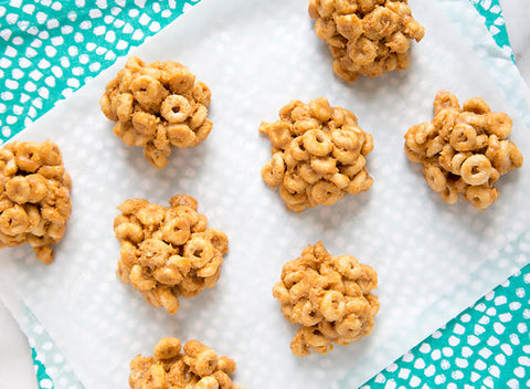 healthy snacks for kids cereal clusters