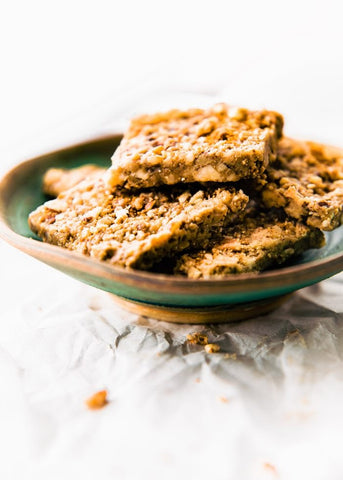 best healthy sweet snacks for kids Paleo Baklava Bars