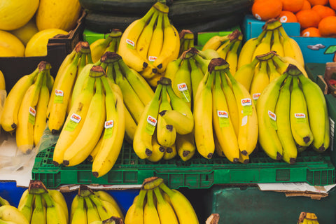 Foods and Drinks To Keep You Energized bananas