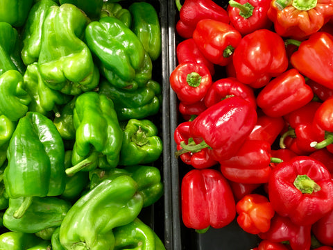 best healthy snack ideas bell peppers